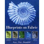 "Blueprints On Fabric 8.5"" Cotton Cyanotype Squares"