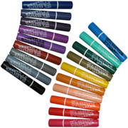 MARVY Broad Point Fabric Markers