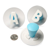 Complete Alphabet Stamp Set