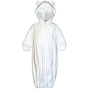 Hooded Fleece Bunting with Ears