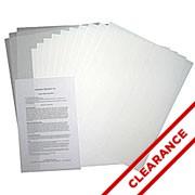 """Short"" Opaque Inkjet Transfer Paper"