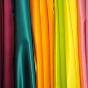 Colored Silk Fabrics