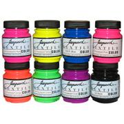 Jacquard Textile Colors - Fluorescent Starter Set