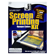 Jacquard Opaque Screen Printing Kit