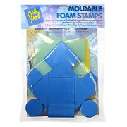Moldable Foam Stamps