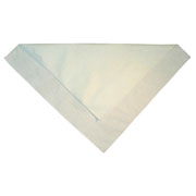 Natural Cotton Bandanas - 12 pack