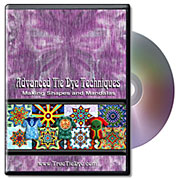 Advanced Tie-Dye Techniques: Shapes and Mandalas DVD