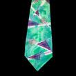 Project Hand-Stamped Silk Necktie