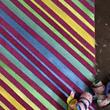 Paint Stripes, Make a Zippety Bag with Paintstiks