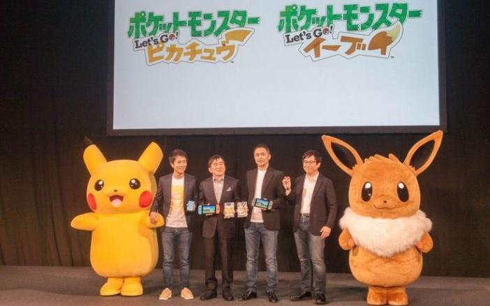 Lanzara Nintendo Pokemon Let S Go Pikachu Y Let S Go Eevee Diario