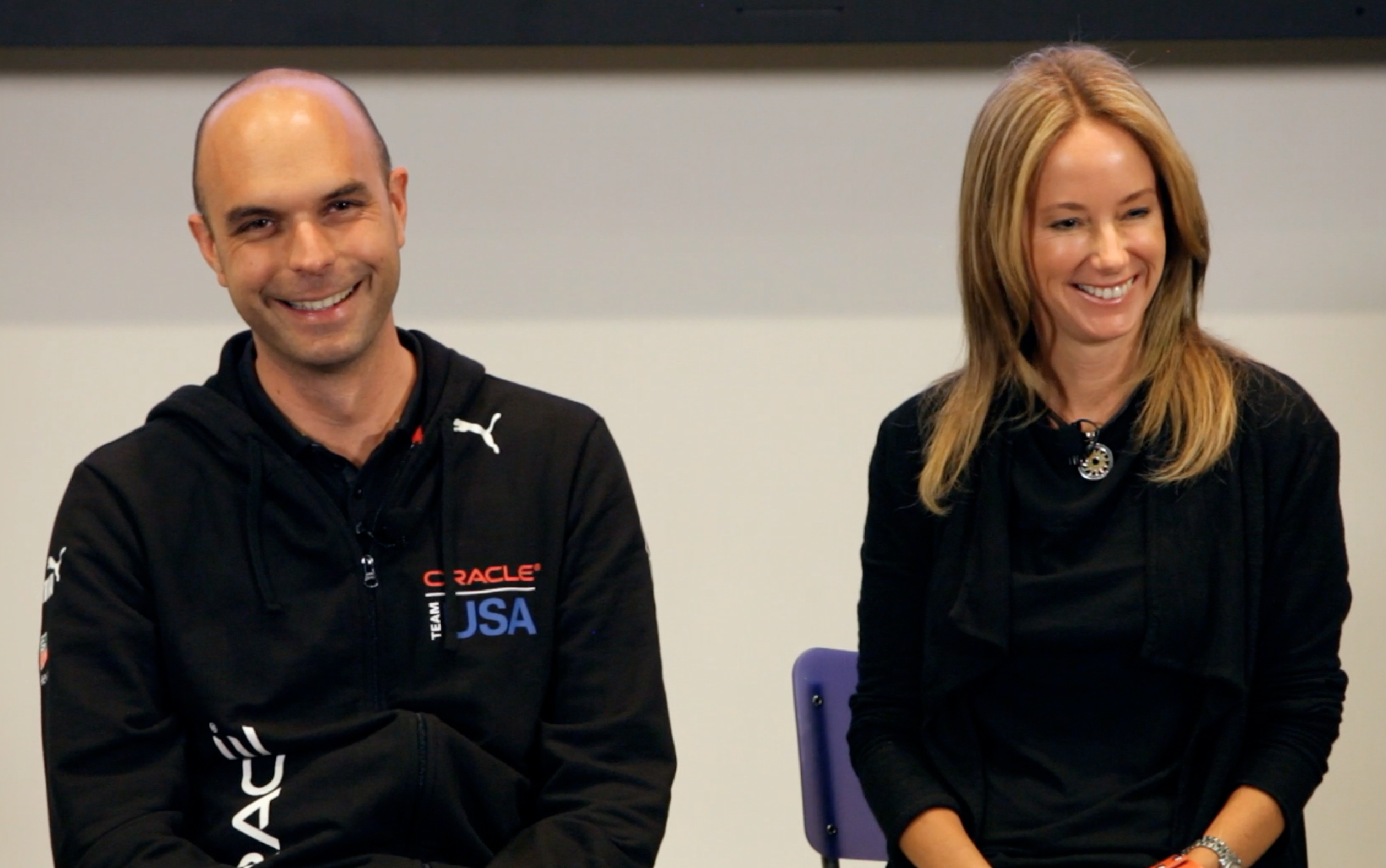 "Julian Guthrie stops by the Googleplex in Mountain View to discuss her latest book: ""The Billionaire and the Mechanic: How Larry Ellison and a Car Mechanic Teamed Up to Win Sailing's Greatest Race, The America's Cup""."