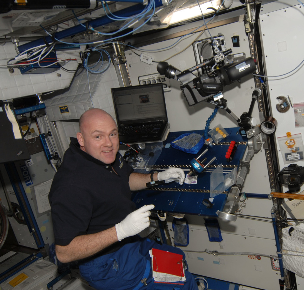 3D Camera on ISS