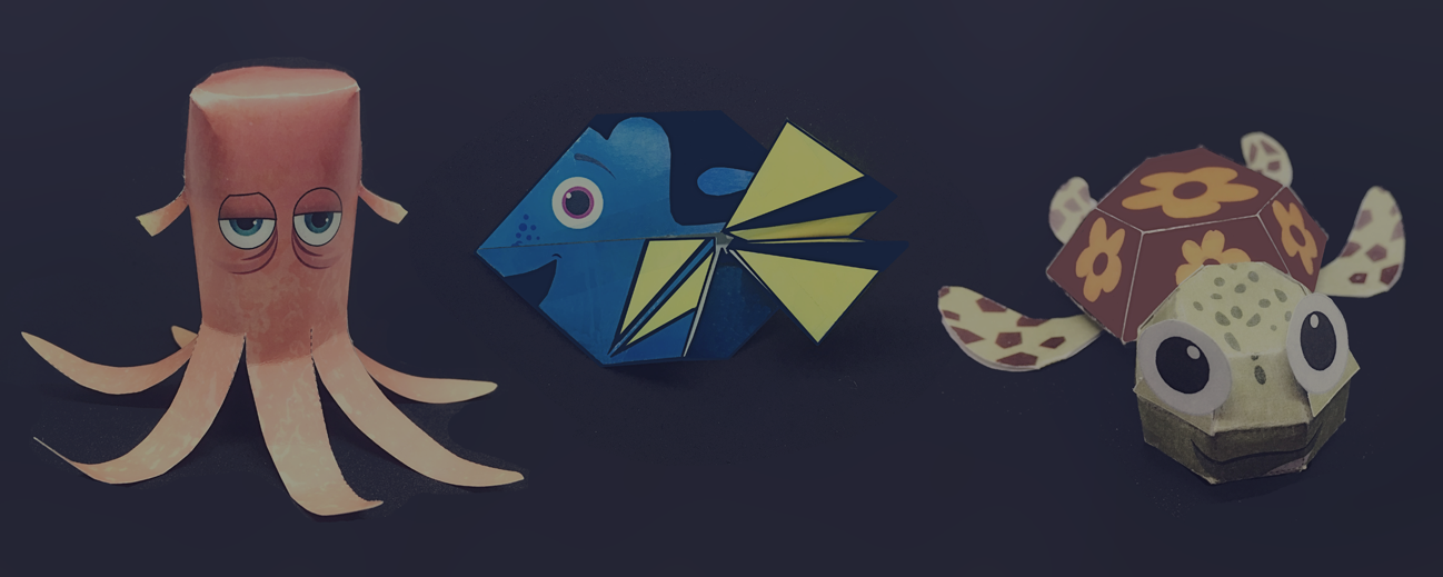 Disney Origami