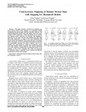 Control-Aware Mapping of Human Motion Data with Stepping for Humanoid Robots-Thumbnail