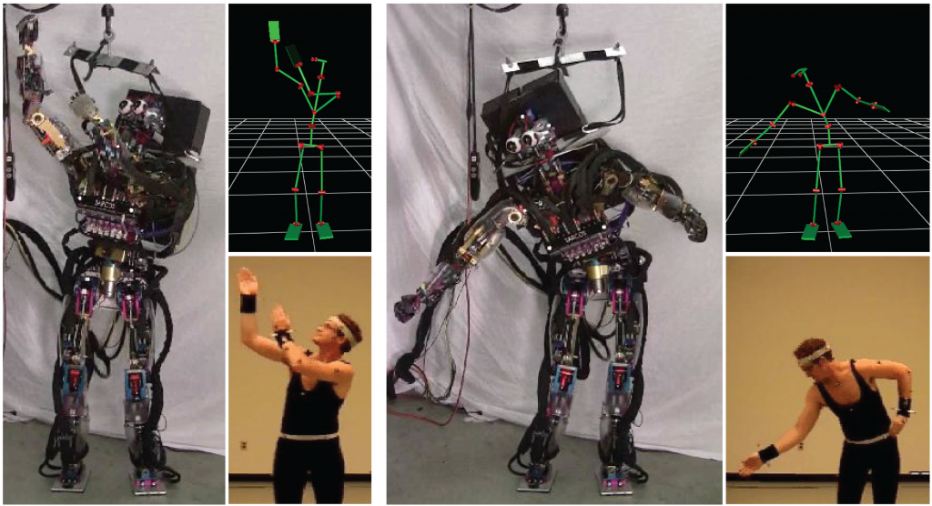 Controlling Humanoid Robots with Human Motion Data- Experimental Validation-Image