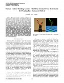 Human Motion Tracking Control with Strict Contact Force Constraints for Floating-Base Humanoid Robots-Thumbnail