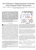Error Reduction in Magnetoquasistatic Positioning using Orthogonal Emitter Measurements-Thumbnail