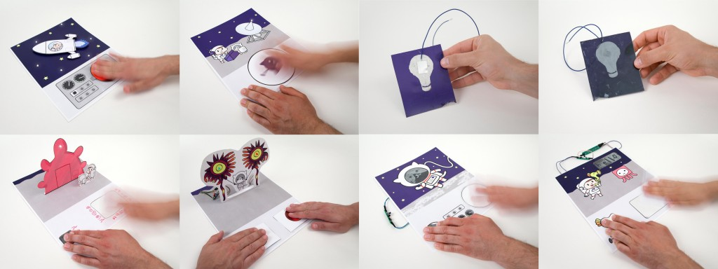 Paper Generators- Harvesting Energy from Touching, Rubbing and Sliding-Image