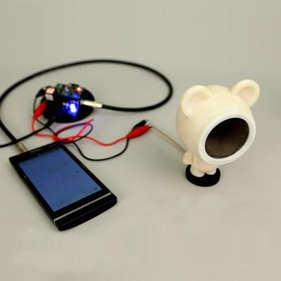 3D Printed Interactive Speakers-Image