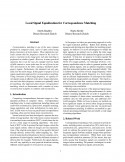 Local Signal Equalization for Correspondence Matching-Thumbnail