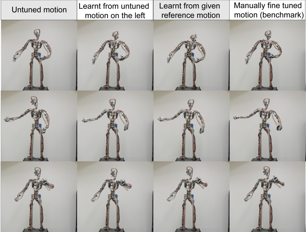 Iterative Learning Control for High-Fidelity Tracking of Fast Motions on Entertainment Humanoid Robots-Image