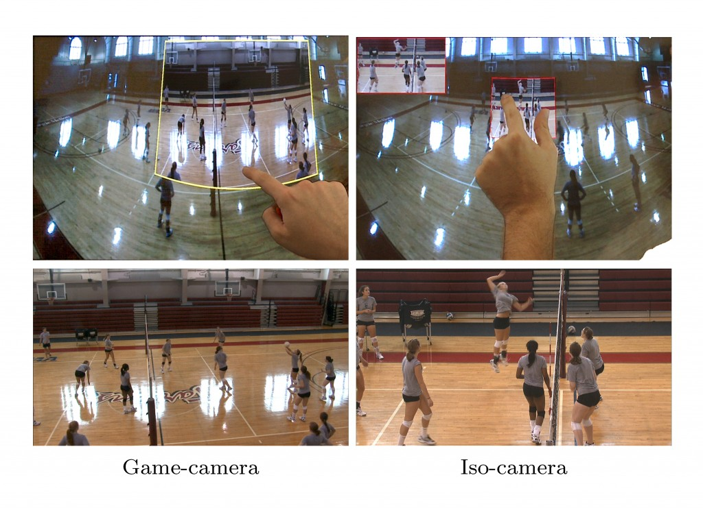 One Man Band- A Touch Screen Interface For Producing Multi-Camera Sports Broadcasts-Image