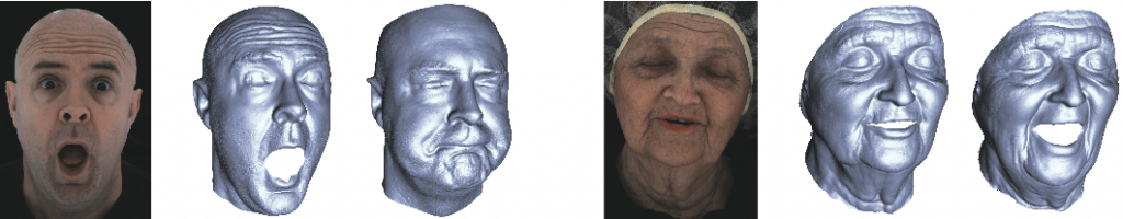 High-Quality Passive Facial Performance Capture using Anchor Frames-Image