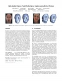 High-Quality Passive Facial Performance Capture using Anchor Frames-Thumbnail
