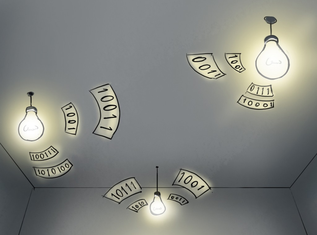 Using Consumer LED Light Bulbs for Low-Cost Visible Light Communication Systems-Image