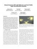 Using Consumer LED Light Bulbs for Low-Cost Visible Light Communication Systems-Thumbnail