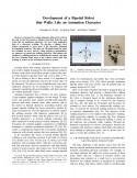 Development of a Bipedal Robot that Walks Like an Animation Character-Thumbnail