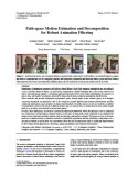 Path-space Motion Estimation and Decomposition for Robust Animation Filtering-Thumbnail