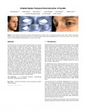 Detailed Spatio-Temporal Reconstruction of Eyelids-Thumbnail