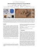 Multi-Scale Modeling and Rendering of Granular Materials-Thumbnail