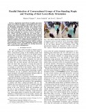 Parallel Detection of Conversational Groups of Free-Standing People and Tracking of their Lower-Body Orientation-Thumbnail