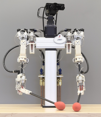 A Hybrid Hydrostatic Transmission and Human-Safe Haptic Telepresence Robot-Image
