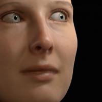 Lightweight Eye Capture Using a Parametric Model-Image
