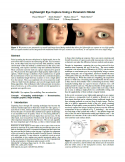 Lightweight Eye Capture Using a Parametric Model-Thumbnail