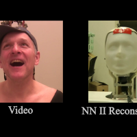 Imitating Human Movement with Teleoperated Robotic Head-Image
