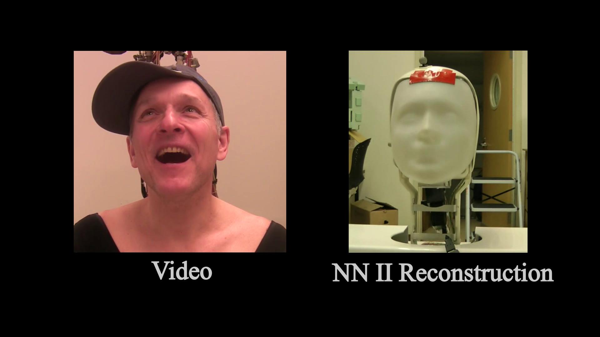 Imitating Human Movement with Teleoperated Robotic Head-Image