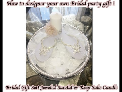 """DIY Episode """" Inexpensive Gift Ideas for your Bridal Party!"""""""