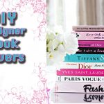 DIY Fashion Book Covers