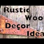 Rustic Wooden Crafts