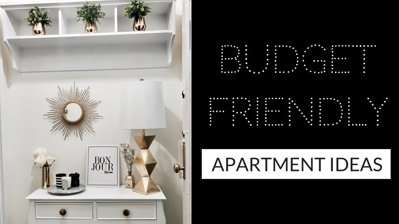 HOW TO MAKE YOUR APARTMENT LOOK EXPENSIVE (On a Budget!) – APARTMENT DIY IDEAS