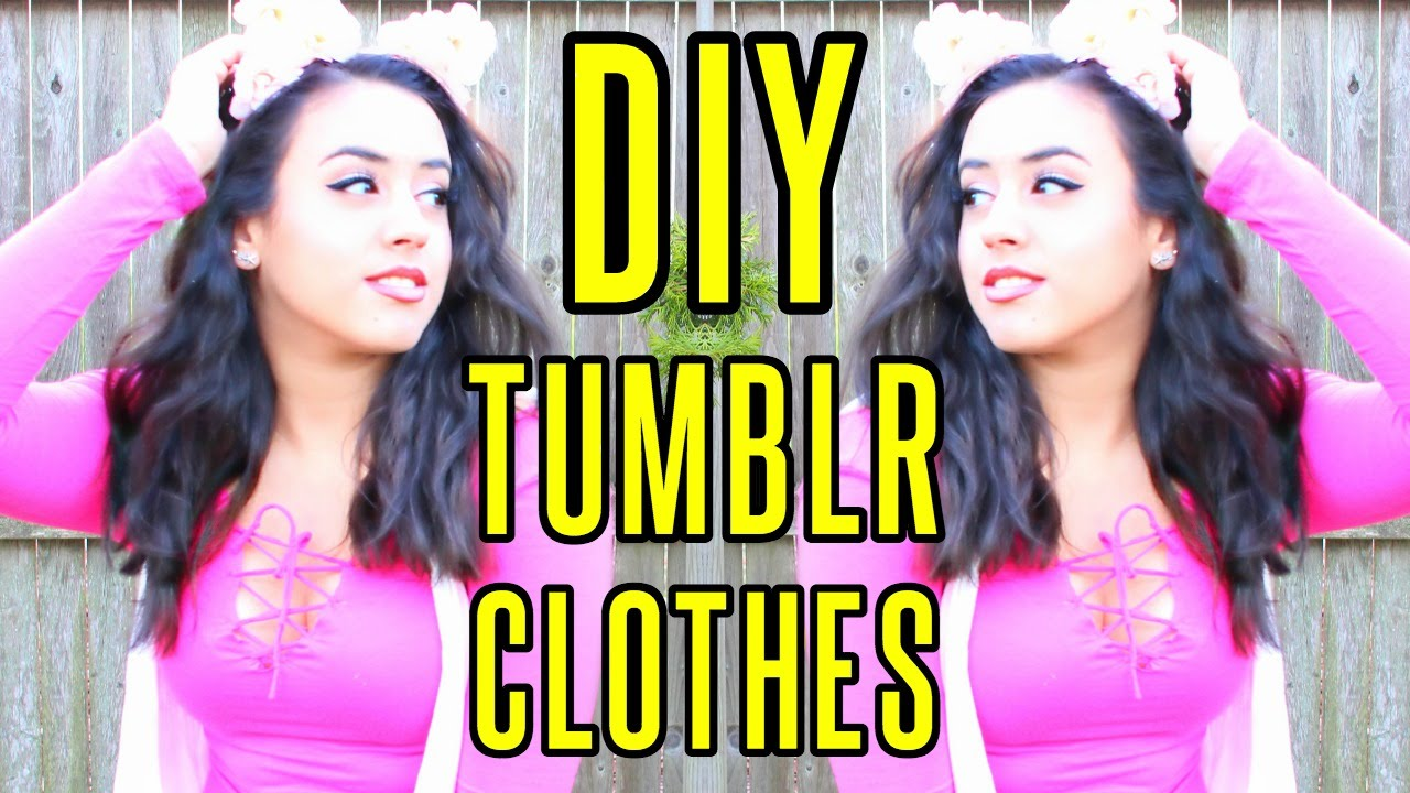 DIY Tumblr Summer Clothes & Accessories | rosaliesaysrawr