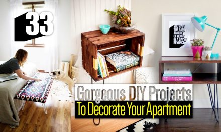33 DIY Apartment Decor ideas