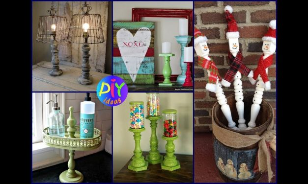 25 Creative Ways to Reuse Old Spindle – DIY Recycled Crafts Ideas