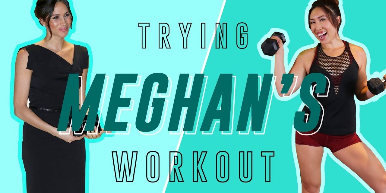 Meghan Markle's Arm, Butt & Ab Routine | Cassey Tries Celebrity Workouts