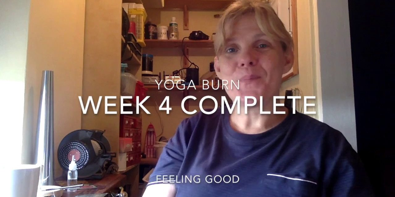 Yoga Burn A real review week 4 Complete with Skulpt Aim