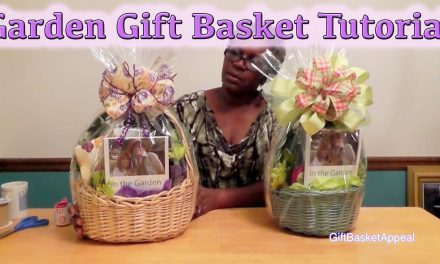 How to Make a Garden Gift Basket | DIY GIFTS